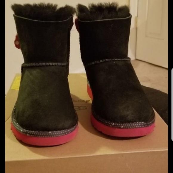 f642155477f UGG Kids Disney Sweetie Bow Boots